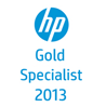 hp gold specialist 2013